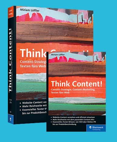 Miriam Löffler, Think Content, Autorin